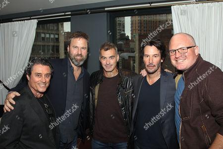 Ian McShane, Basil Iwanyk (Producer), Chad Stahelski (Director), Keanu Reeves, Derek Kolstad (Screenwriter),