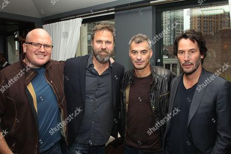 Derek Kolstad (Screenwriter), Basil Iwanyk (Producer), Chad Stahelski (Director), Keanu Reeves