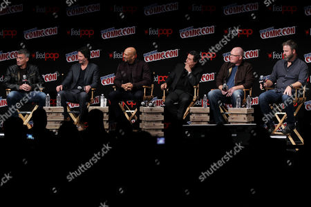 Chad Stahelski (Director), Keanu Reeves, Common, Ian McShane, Derek Kolstad (Screenwriter), Basil Iwanyk (Producer)