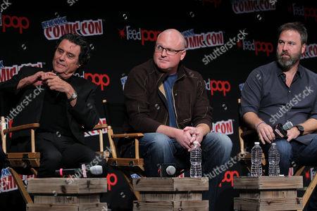 Ian McShane, Derek Kolstad (Screenwriter), Basil Iwanyk (Producer)