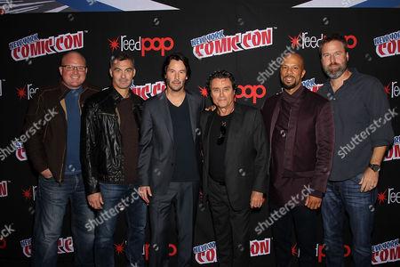 Derek Kolstad (Screenwriter), Chad Stahelski (Director), Keanu Reeves, Ian McShane, Common, Basil Iwanyk (Producer)