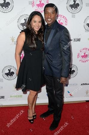 Nicole Pantenburg and Kenneth Babyface Edmonds