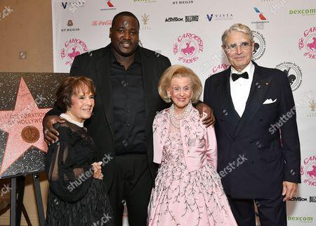 Quinton Aaron, Barbara Davis, Michael Nouri and Guest
