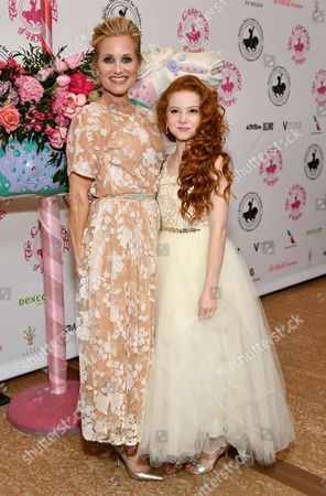 Maureen McCormick and Francesca Capaldi