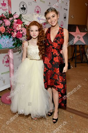 Francesca Capaldi and G Hannelius