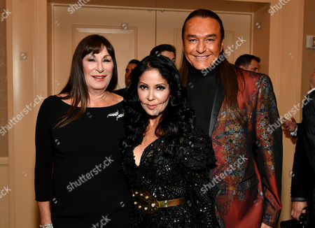 Anjelica Huston, Apollonia Kotero and Nick Chavez