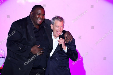 Quinton Aaron and David Foster