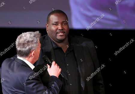 David Foster and Quinton Aaron