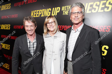 Stock Image of Martin Short, Laurie MacDonald, Walter Parkes