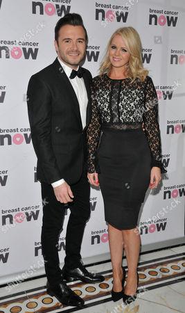 Stock Photo of Shane Filan and Gillian Filan