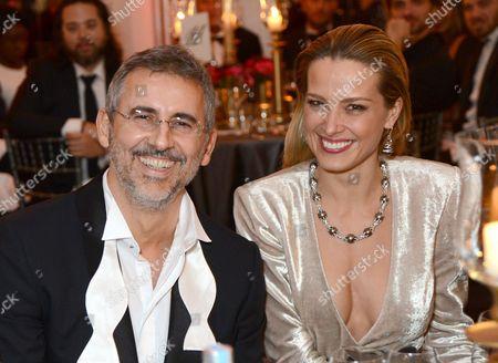 David Mimran and Petra Nemcova