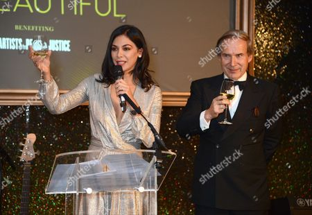 Moran Atias and Simon de Pury