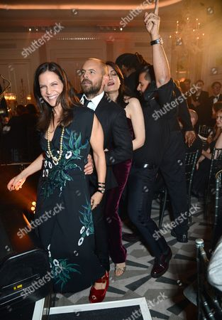 Editorial image of 'Brilliant is Beautiful' Gala at Claridge's, London, UK - 09 Oct 2016