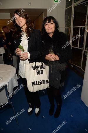 Bella Freud and Plaxy Locatelli