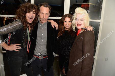 Jess Morris, Marlon Richards, Fran Cutler and Pam Hogg