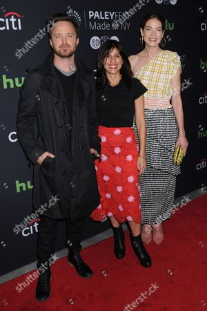 Aaron Paul, Jessica Goldberg, Michelle Monaghan
