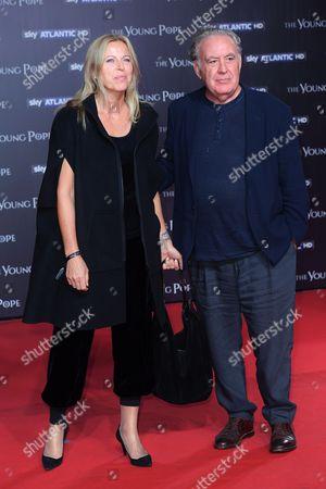 Michele Santoro and wife Sanja Podgajski