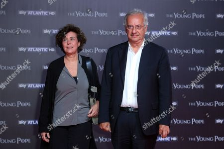 Walter Veltroni and wife Flavia Prisco
