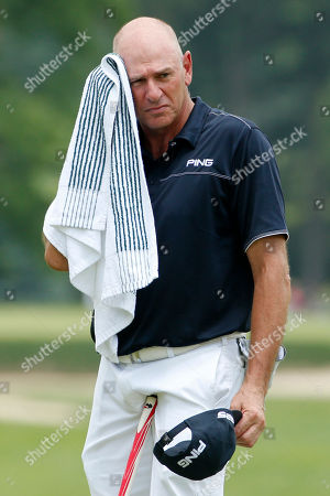 Editorial picture of Champions Tour Golf, Pittsburgh, USA