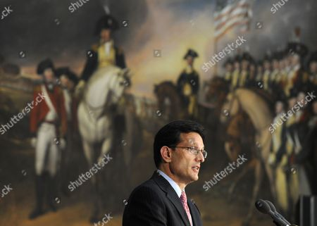 Eric Cantor House Majority Leader Eric Cantor of Va., speaks during a ceremony to posthumously present a Congressional Gold Medal to Raoul Wallenberg in honor of his heroism during the Holocaust, on Capitol Hill in Washington. Wallenberg's work as Sweden's envoy in Budapest in 1944 was a cover for a humanitarian mission as secret emissary of the U.S. War Refugee Board, created in an attempt to stem the annihilation of Europe's Jews. He saved at least 20,000 Jews in Budapest by giving them Swedish travel documents or moving them to safe houses and is also credited with dissuading German officers from massacring the 70,000 inhabitants of the city's ghetto