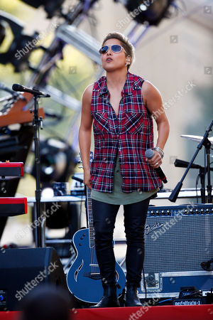 Vicci Martinez Vicci Martinez performs during an Independence Day celebration, in Philadelphia