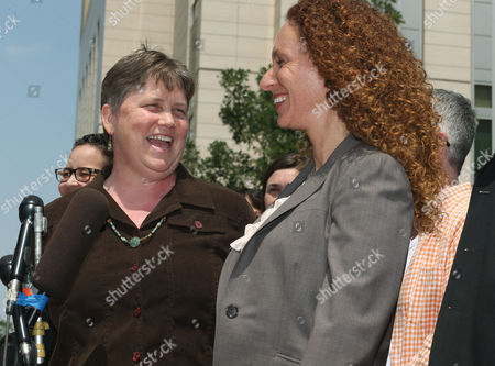 Kate Burns, Mari Newman Kate Burns, left, one of the plaintiffs in a lawsuit filed by six gay couples to overturn Colorado's gay marriage ban, jokes with attorney Mari Newman during a noon hour news conference outside the federal courthouse in downtown Denver on . Six gay couples filed the lawsuit Tuesday to ask for an injunction to stop all officials from enforcing the ban on gay marriage in Colorado