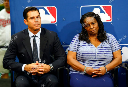 Billy Bean Former major league outfielder Billy Bean, left, and Lutha Burke look on during a news conference at baseball's All-Star game in Minneapolis. Major League Baseball had appointed Bean, who came out as gay after his playing career, to serve as a consultant in guiding the sport toward greater inclusion and equality. Burke is the sister of Glenn Burke, who was the first MLB player to come out as gay after retiring. Burke died in 1995. Baseball history was made in Northern California when the sport's first active professional player to come out as gay pitched a shutout before an enthusiastic crowd that seemed more impressed with his performance than his role as a pioneer. Sean Conroy, 23, led the Sonoma Stompers to a 7-0 victory Thursday night, June 25, 2015, in Sonoma, Calif