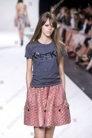 Editorial picture of Luella Bartley show for Spring / Summer 2007, Olympus Fashion Week, New York, America - 10 Sep 2006