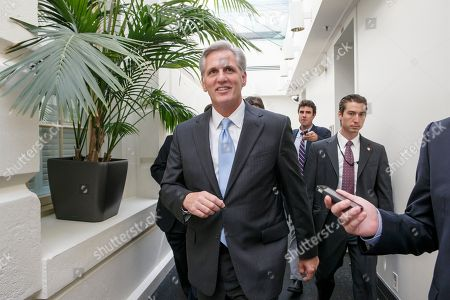 """Kevin McCarthy House Majority Leader Kevin McCarthy of Calif. on Capitol Hill in Washington. Raul Garcia has a question for Kevin McCarthy, the House's No. 2 Republican: """"While we are waiting for you on immigration reform, who should be harvesting America's food?"""" It's a provocative query and the foundation of Garcia's long-shot challenge to McCarthy, a three-term incumbent who rose to power after another GOP leader thought unsinkable, Virginia's Eric Cantor, fell to an unknown candidate in a primary"""