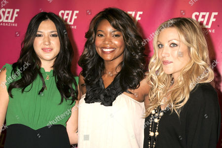 Michelle Branch, Gabrielle Union and Jessica Harp