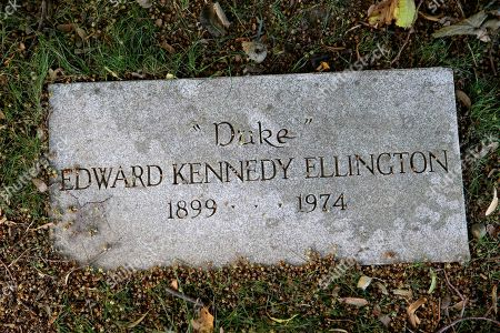 Jazz great Duke Ellington's headstone rests at Woodlawn Cemetery in the Bronx section of New York, . So many jazz enthusiasts want to be buried near the graves of such greats as Miles Davis and Ellington that the New York City cemetery is developing land to meet the demand