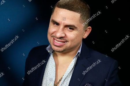 """Larry Hernandez Mexican singer Larry Hernandez posing for a photo during an interview in Los Angeles. NBC UNIVERSO announced, that the network will renew its reality series, """"Larrymania,"""" which features Hernandez, for a fifth season"""