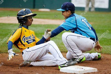 Editorial photo of LLWS Las Vegas Chicago Baseball, South Williamsport, USA