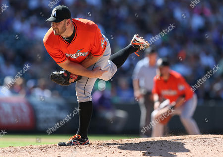 Brad Penny Miami Marlins relief pitcher Brad Penny works agianst the Colorado Rockies in the fifth inning of the Rockies' 7-4 victory in a baseball game in Denver on