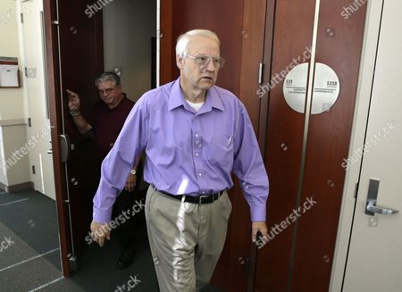 Chuck Cox Charles Cox, the father of missing Utah mother Susan Powell walks out of the courtroom in Salt Lake City on . Attorneys and family members of Powell were in court to argue about how a judge should distribute about $2 million in life insurance proceeds that are set to flow into a trust this December when she is declared legally dead - five years after her disappearance