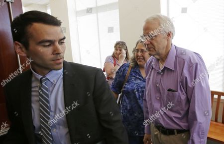 Stock Picture of Chuck Cox, Judy Cox Charles and Judy Cox, right, the parents of missing Utah mother Susan Powell, enter a courtroom in Salt Lake City on . Attorneys and family members of Powell were in court to argue about how a judge should distribute about $2 million in life insurance proceeds that are set to flow into a trust this December when she is declared legally dead - five years after her disappearance