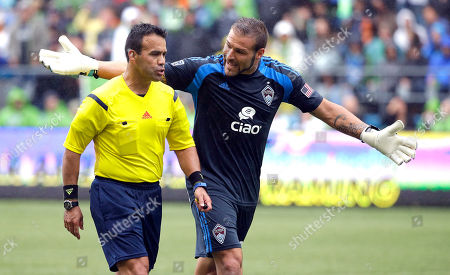 Editorial picture of MLS Rapids Sounders Soccer, Seattle, USA