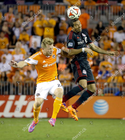 Editorial image of MLS Toronto FC Dynamo Soccer, Houston, USA