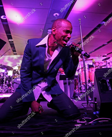 Stock Photo of Tevin Campbell Tevin Campbell performs at the Essence Festival in New Orleans