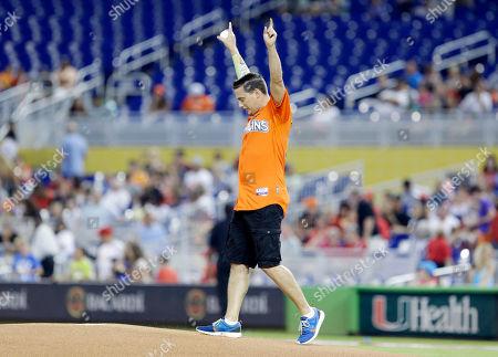 Editorial photo of Phillies Marlins Baseball, Miami, USA