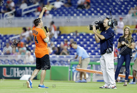 Editorial picture of Phillies Marlins Baseball, Miami, USA