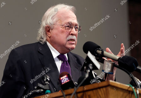 Michael Baden Former New York City chief medical examiner Dr. Michael Baden speaks during a news conference to share preliminary results of a second autopsy done on Michael Brown, in St. Louis County, Mo. The independent autopsy shows 18-year-old Michael Brown was shot at least six times