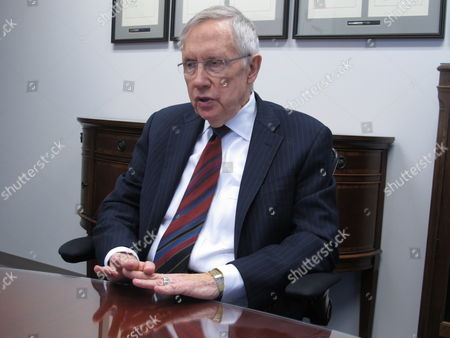 Editorial photo of Reid-Nevada Governor, Reno, USA