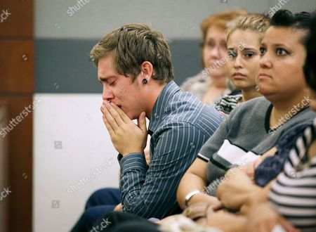 Austin James Lindsey Austin James Lindsey cries while attending the sentencing of his brother Gage James Lindsey in district court, in Las Vegas. Gage James Lindsey was sentenced to 6 to 20 years for for crashing his vehicle into a Las Vegas restaurant in 2013 and injuring 10 people