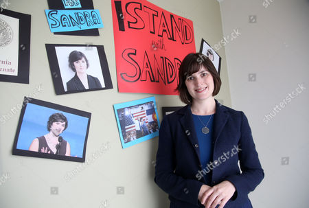Sandra Fluke Sandra Fluke poses for a photograph at her campaign office in Los Angeles. The former Georgetown University law student who gained national attention after being denied the chance to testify before Congress about health plan contraception coverage, and then subjected to degrading comments by radio host Rush Limbaugh, is trying to transform herself from advocate to lawmaker. She is running for the California state Senate to represent some of the most affluent communities of Los Angeles County, a district that stretches from the Hollywood Hills to the Palos Verdes peninsula