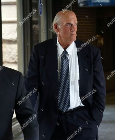 Stock Photo of Jesse Ventura Former Minnesota Gov. Jesse Ventura makes his way back into Warren E. Burger Federal Building during the first day of jury selection in a defamation lawsuit, in St. Paul, Minn. Ventura filed the defamation lawsuit against the late Navy Seal Chris Kyle's estate, claiming that Kyle's account of a bar fight in a book he wrote was false