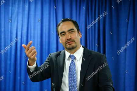 Tim Wu Tim Wu, a candidate for New York lieutenant governor, speaks during a news conference, in Albany, N.Y