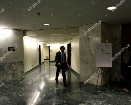 Tim Wu Tim Wu, a candidate for New York lieutenant governor, walks to a news conference, in Albany, N.Y