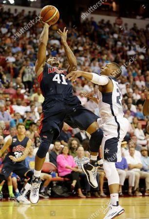 Derrick Rose, Damian Lillard Chicago Bulls' Derrick Rose, left, goes up for a shot against Portland Trail Blazers' Damian Lillard during the USA Basketball Showcase game, in Las Vegas