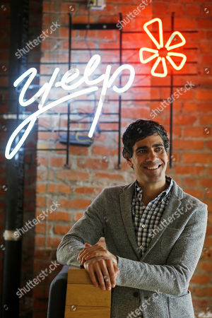 Jeremy Stoppelman Yelp CEO Jeremy Stoppelman poses at his company's headquarters in San Francisco. Stoppelman, 36, probably wouldn't be running Yelp Inc. if he had paid more attention to the opinions of outsiders than his own insights